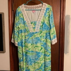Lilly Pulitzer alligator print dress.